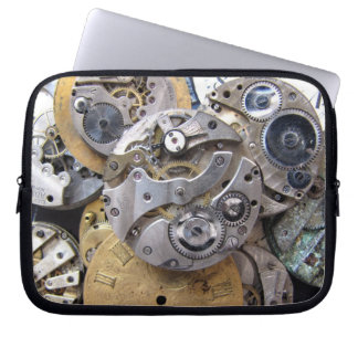 Steampunk Pocket Watch Laptop Sleeve