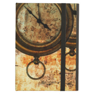 steampunk pocket watch sunset eternity cover for iPad air