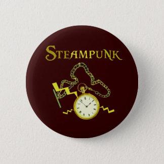 Steampunk Pocketwatch Button