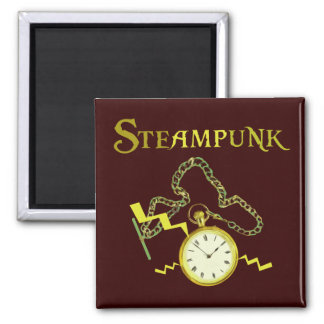 Steampunk Pocketwatch Magnet