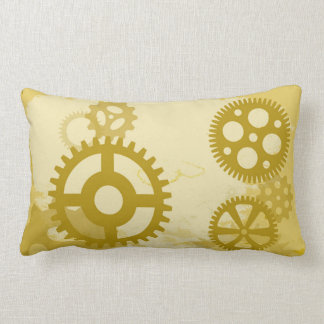 Steampunk Polyester Throw Pillow
