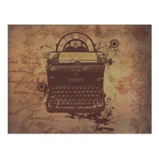 Steampunk Postcard