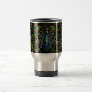 Steampunk - Pretty as a peacock Travel Mug