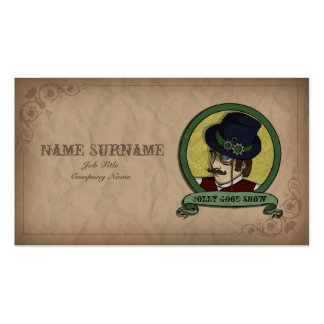 Steampunk Prince, business card template Pack Of Standard Business Cards