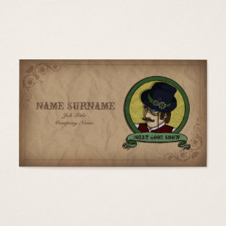 Steampunk Prince, business card template