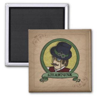 Steampunk Prince, magnet Refrigerator Magnets