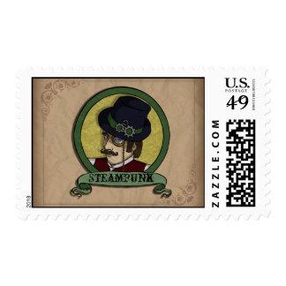 Steampunk Prince Stamp