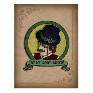Steampunk Prince, postcard