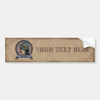 Steampunk Princess, bumper sticker
