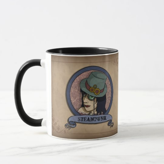 Steampunk Princess, mug