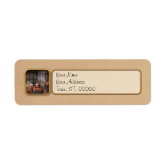 Steampunk - Private distillery Label
