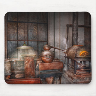 Steampunk - Private distillery Mouse Pad