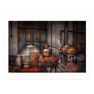 Steampunk - Private distillery Postcard