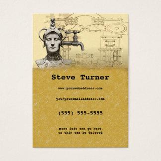 SteamPunk Profile Card