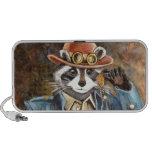 Steampunk Raccoon Travelling Speaker