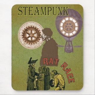 Steampunk Rat Race Mousepad