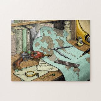 Steampunk Raygun Puzzle