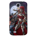 Steampunk Red Galaxy S4 Cover
