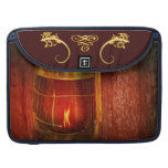 Steampunk - Red light district Sleeve For MacBook Pro