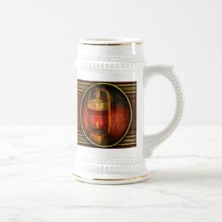 Steampunk - Red light district Coffee Mug