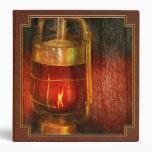 Steampunk - Red light district Vinyl Binder