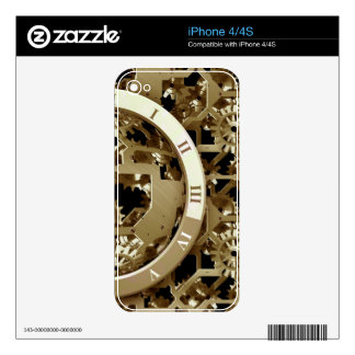 Steampunk registra los regalos mecánicos de los iPhone 4S skins