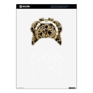Steampunk registra los regalos mecánicos de los mando xbox 360 skins