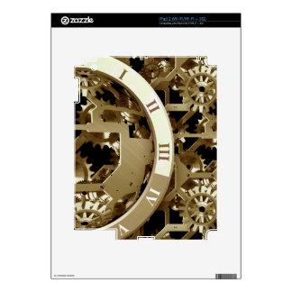 Steampunk registra los regalos mecánicos de los skin para el iPad 2