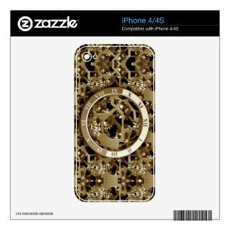 Steampunk registra los regalos mecánicos de los skins para iPhone 4