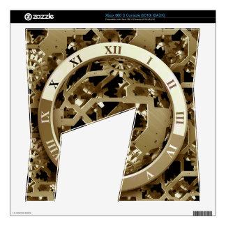 Steampunk registra los regalos mecánicos de los xbox 360 s calcomanías