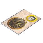 Steampunk reloj libretas