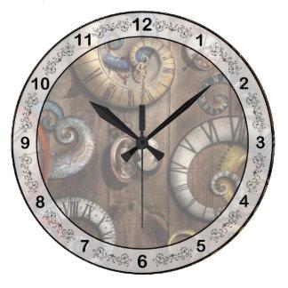 Steampunk - reloj - máquina de tiempo