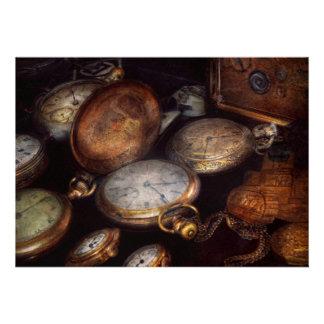 Steampunk - reloj - tiempo llevado comunicado personalizado