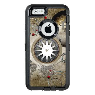 Steampunk, relojes y engranajes funda OtterBox defender para iPhone 6