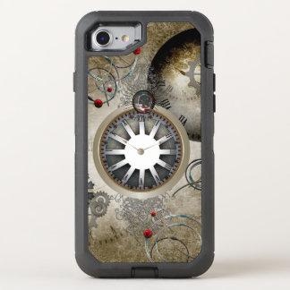 Steampunk, relojes y engranajes funda OtterBox defender para iPhone 7