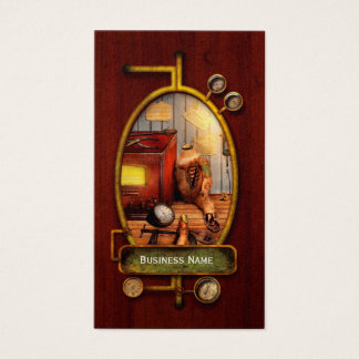 Steampunk - Repairing a friendship Business Card
