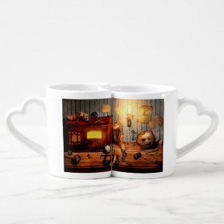Steampunk - Repairing a friendship Coffee Mug Set