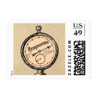 Steampunk Response Stamp