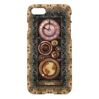 Steampunk Retro Stylish Vintage Timepiece iPhone 7 Case