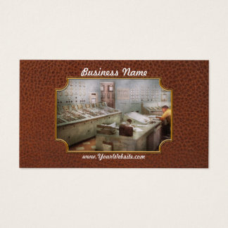 Steampunk - Retro - The power station Business Card