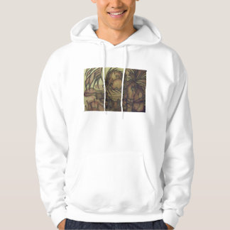 steampunk revolver hoodie