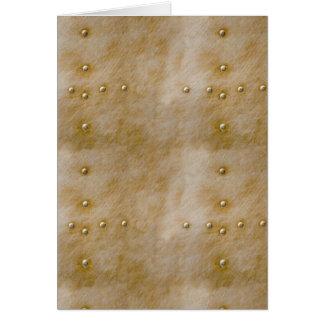 Steampunk Rivets Card