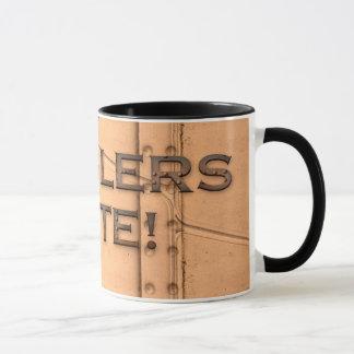 STEAMPUNK RIVETS COGGLERS UNITE Drinking Mug