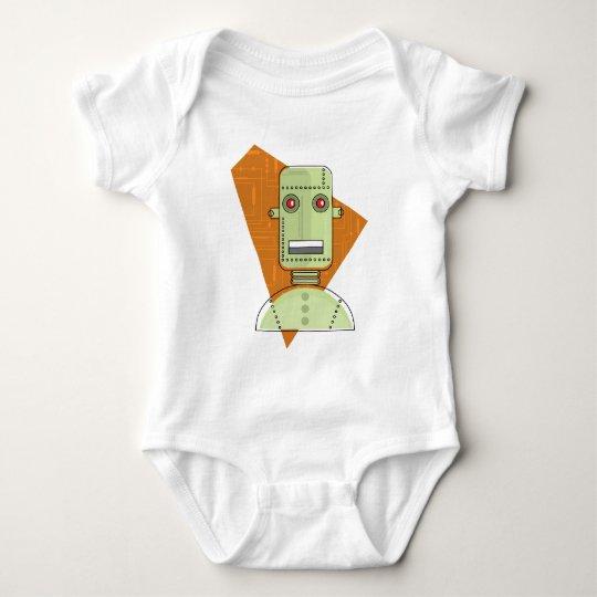 Steampunk Robot Baby Bodysuit