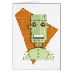 Steampunk Robot Card