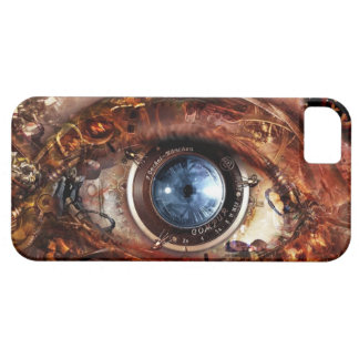 steampunk robot eye iphone case iPhone 5 cover