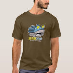 Hand shaped Steampunk Robot Shark 3000 t-shirt