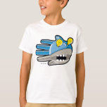 Hand shaped Steampunk Robot Shark T-Shirt