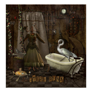 Steampunk Romance Poster