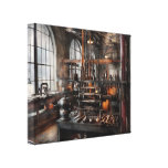 Steampunk - Room - Steampunk Studio Canvas Print